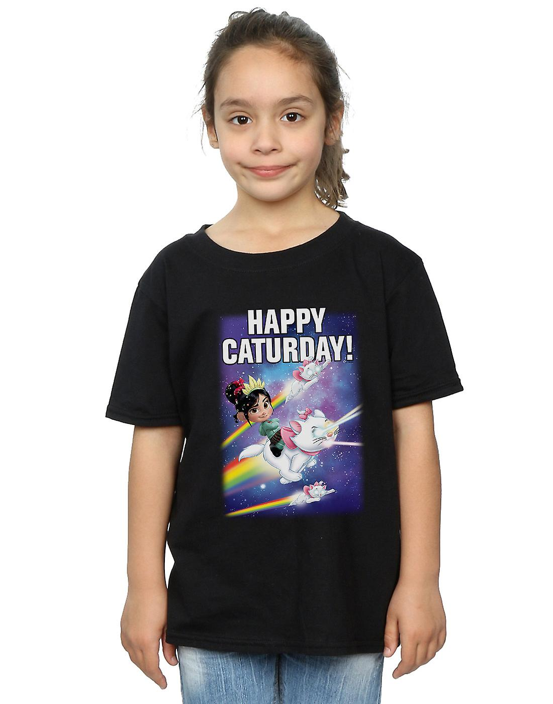 Disney Girls Wreck It Ralph Happy Caturday T-Shirt