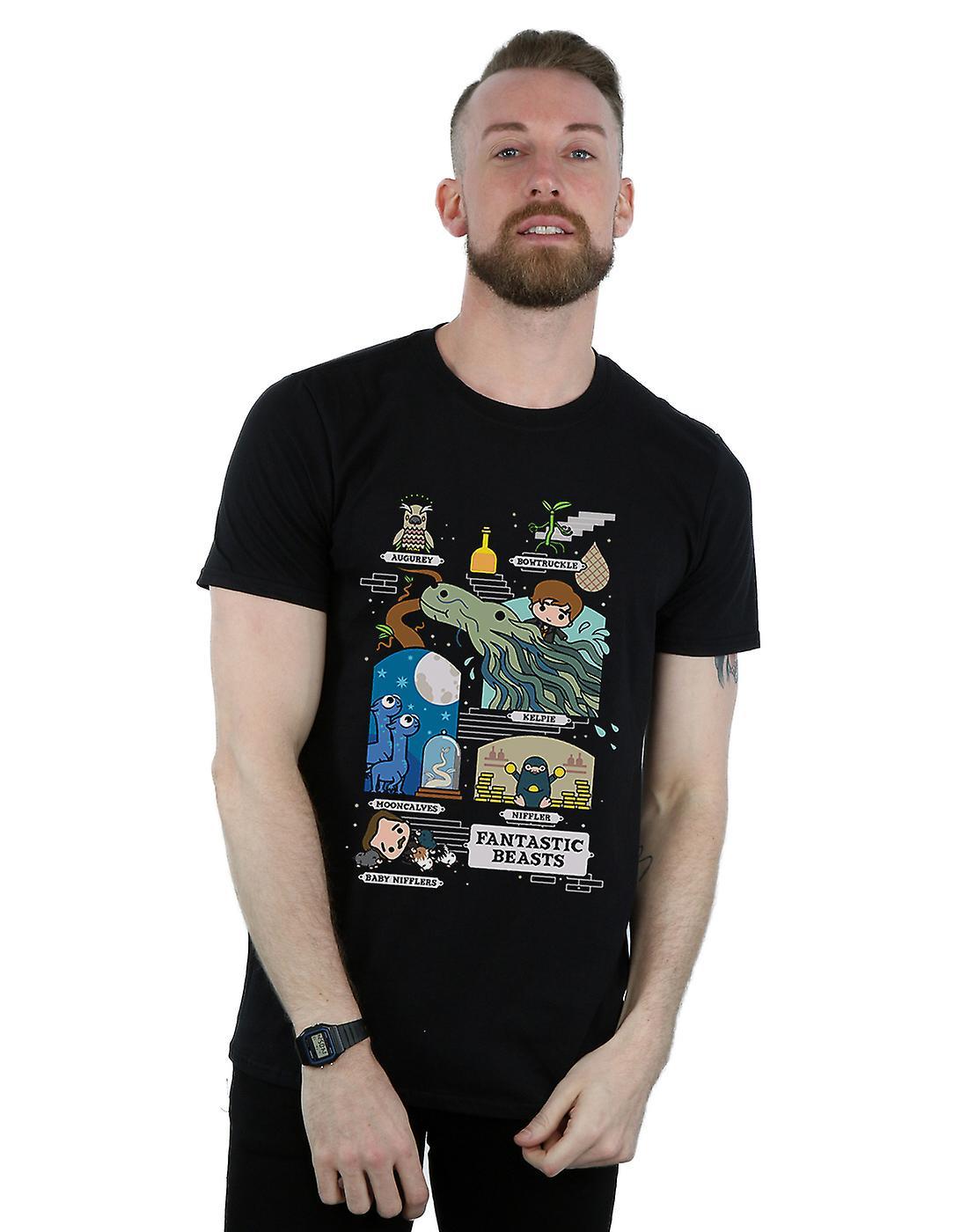 Fantastic Beasts Men's Chibi Newt T-Shirt