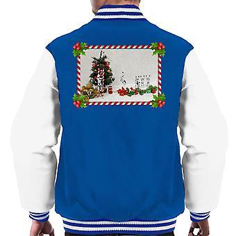 Originele Stormtrooper Christmas Tree riet van het suikergoed dia mannen Varsity Jacket