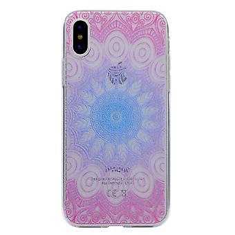 iPhone X TPU Skin-Mandala