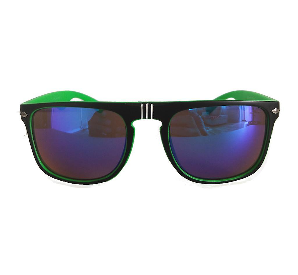 Viper Wayfarer (Noir/vert)