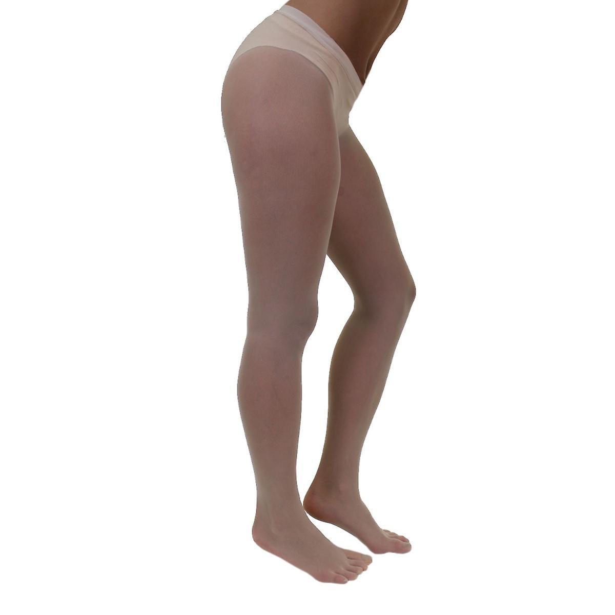 LEGWEAR - Plain Nylon Toe Tights