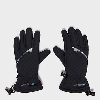 New Trekmates Women's Winter Waterproof Keska Softshell Gloves Black
