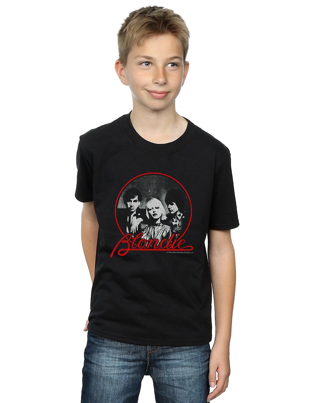 Blondie Boys Distressed Circle T-Shirt