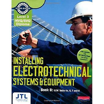 Nivå 3 NVQ/SVQ diplom installera elektrotekniska system och utrustning kandidat handbok B