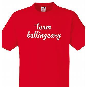 L'équipe Ballingeary rouge T shirt