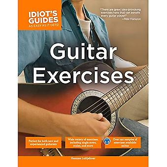 Complete Idiot's Guide to Guitar Exercises, The (Complete Idiot's Guides
