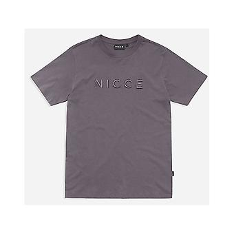 NICCE Mercury T-shirt In Coal Grey