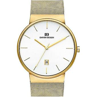 Deense design mens watch stainless steel horloge IQ05Q971 - 3310083