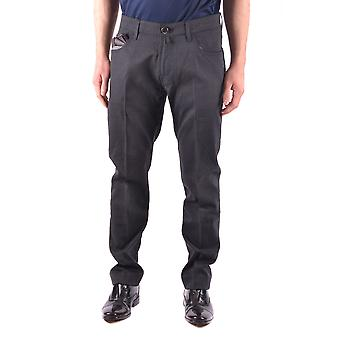 Jacob Cohen Ezbc054074 Men's Black Wool Pants