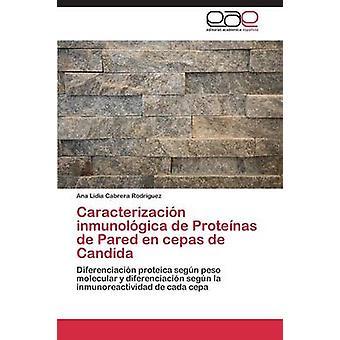 Caracterizacin inmunolgica de Protenas de Pared en cepas de Candida by Cabrera Rodrguez Ana Lidia