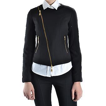 Balizza Ezbc206012 Damen's Schwarz Polyester Outerwear Jacke