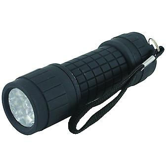 Yellowstone 9 LED Rubber Handheld Torch Flashlight