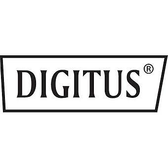 Digitus DK-1617-020/WH RJ45 Netzwerkkabel, Patchkabel CAT 6 U/UTP 2,00 m Weiß Halogenfrei 1 Stk.