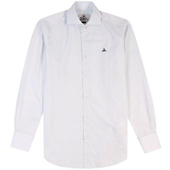 Vivienne Westwood Zwei Button Krall Shirt Light Blue