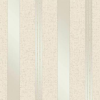 Krem złoty pasek Glitter tapeta Vinyl teksturowane Shimmer Fine Decor Quartz