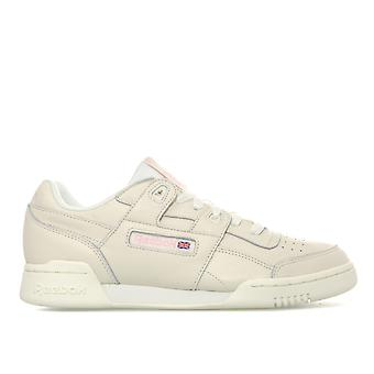 Womens Reebok Classics Workout Plus Vintage Trainers In Vintage White /