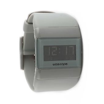 Wize and Ope Classic  Grey Digital  Watch WO-ALL-3