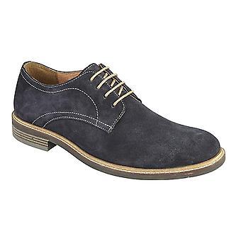 Roamers Miesten Derby Mokka nahka nauha kenkä