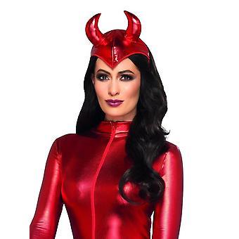 Koorts duivel hoofdband rood, Halloween koorts fancy dress, één maat