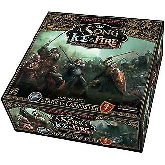 A Song of Ice and Fire Stark vs Lannister Starter Set
