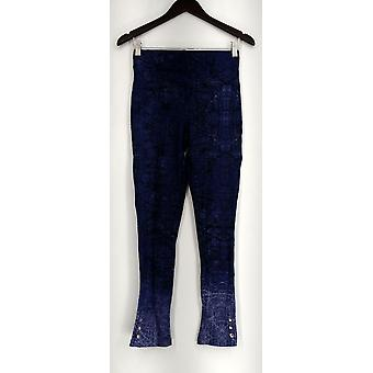 Slimming Options for Kate & Mallory Leggings Ankle Snap Pull On Blue A434323