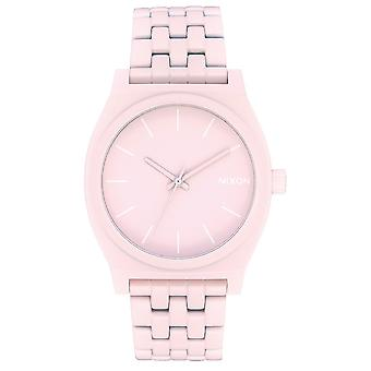Nixon time teller Japanese Quartz Analog Woman Watch with A0453164 Stainless Steel Bracelet