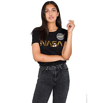 Alpha Industries kvinders T-shirt NASA PM