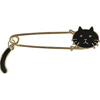 Pin - C&D - Cats Black Cat with Tail New Gifts lap-0055