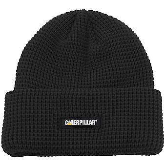 CAT Workwear Mens Watch Grid Knit Acrylic Turnup Beanie