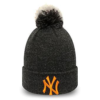 New era femeii de iarnă Hat Bobble Beanie-New York Yankees