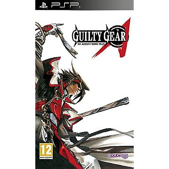 Guilty Gear XX accent core plus (PSP)-in de fabriek verzegeld