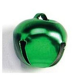 8 Green 25mm Jingle Bells for Crafts | Craft Bells