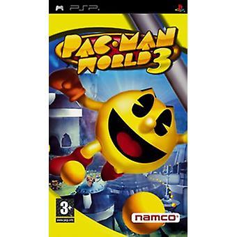 PAC-man värld 3 (PSP)-nytt