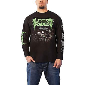 Voivod T Shirt Killing Technology Band Logo new Official Mens Black Long Sleeve