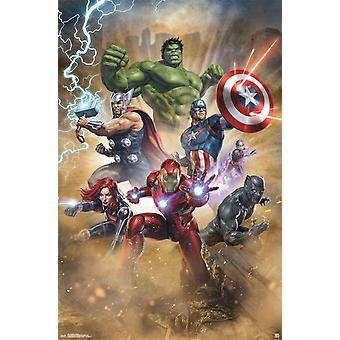 Poster - Studio B - Avengers - Fantastic 23