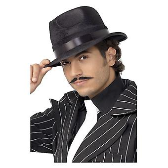 Mens onverwoestbaar Fedora hoed Fancy Dress accessoire