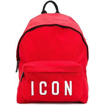 ICON logo rode rugzak