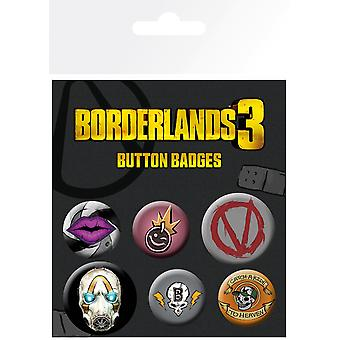 Borderlands 3 ikonok BADGE csomag