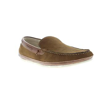 Unlisted by Kenneth Cole Regotta Slip On Mens Brown Dress Loafers Shoes
