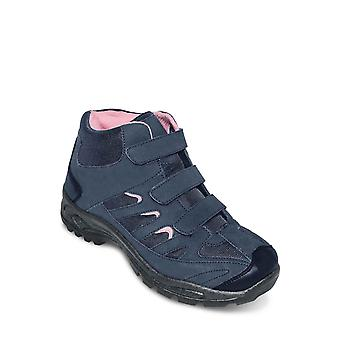 Chums Ladies Hiker Boot Wide Fit Touch Fastening