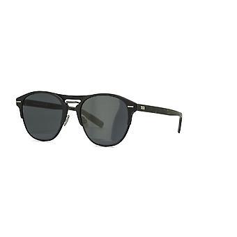 Dior Homme Chrono 0AM/2K Matte Schwarz-Havanna/Graue Sonnenbrille