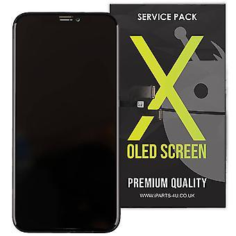 iPhone wymiana Premium zespołu X LCD ekran