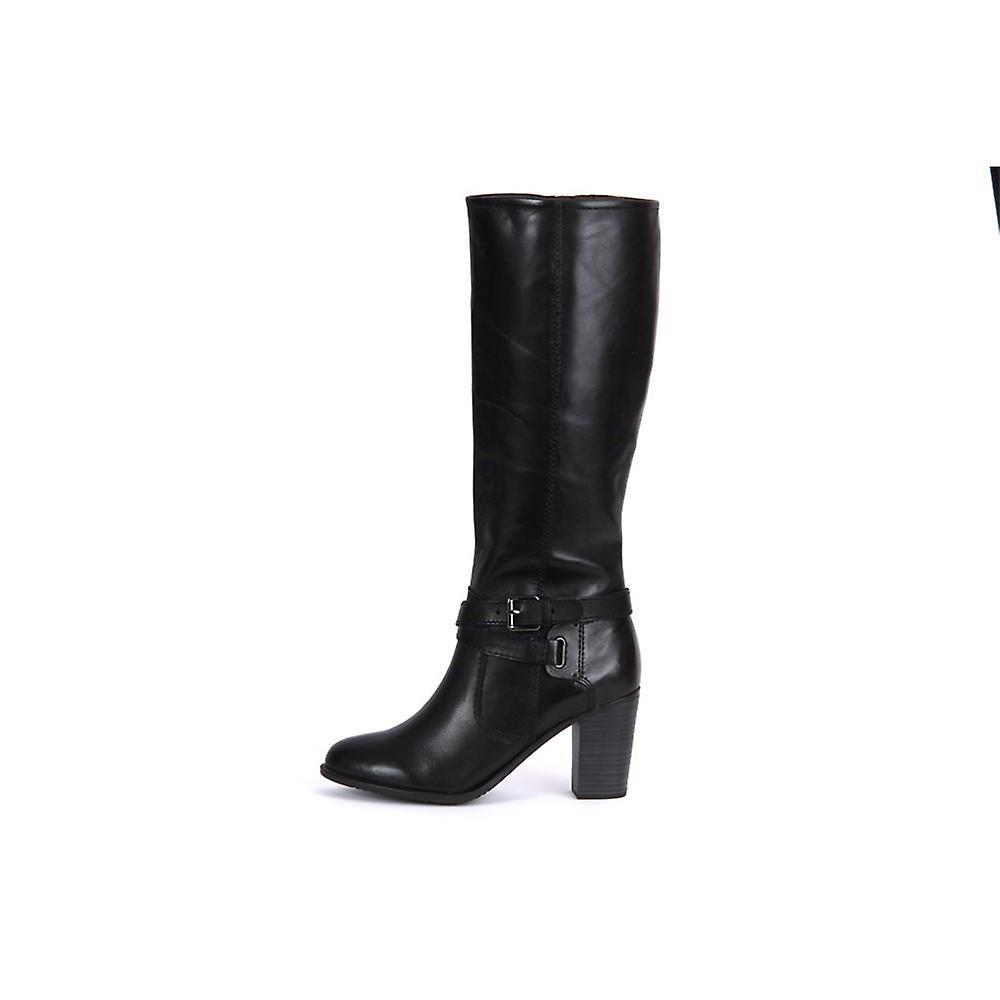 Tamaris Black Leather 12554523001 Chaussures Universelles Pour Femmes D'hiver