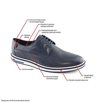 Men's Genuine Leather Made in Brazil Casual Manhattan Lace-Up Marc Joseph NY ...