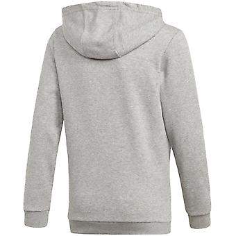 adidas Performance Boys Sports ID Long Sleeve Casual Hoody Pullover Hoodie -Grey