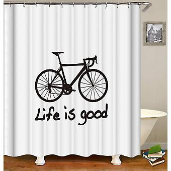 Fahrrad Leben Dusche Vorhang
