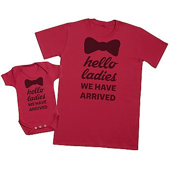 Hello Ladies, I'm Here! - Mens T Shirt & Baby Bodysuit