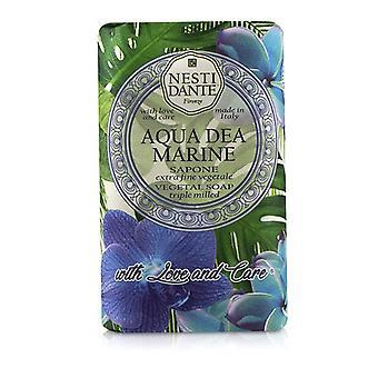 Nesti Dante Triple Milled Vegetal Soap Con Amore & Cura - Aqua Dea Marine - 250g/8.8once