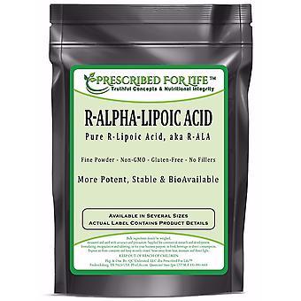 Alfa Lipoiinihappo R-versio Powder-(RALA) luonnollinen biologisesti aktiivinen muoto
